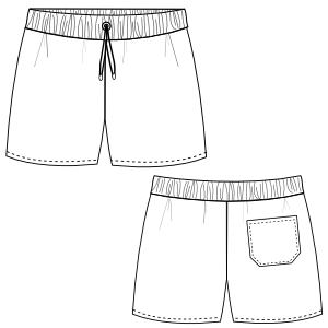 Drawing shorts. Short boys prendas en