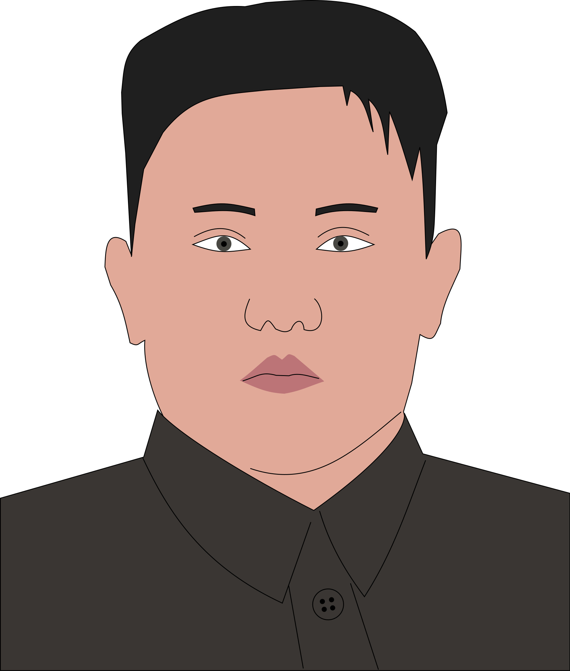 Drawing show kim jung. Weird facts about