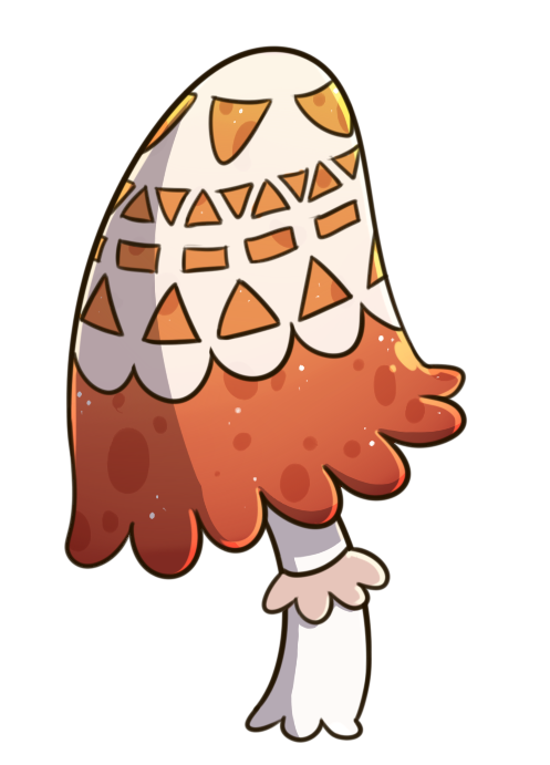 Drawing shrooms cute. Maple doily shroom by