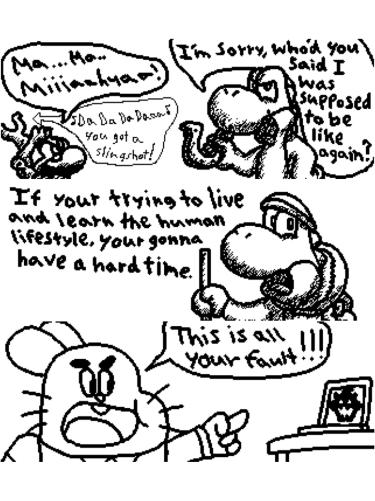 Drawing shrooms line. The hero of miiverse