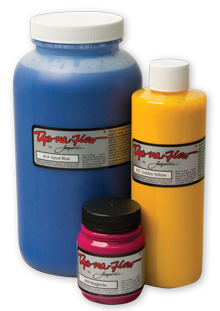 Drawing silk paints. Jacquard products dye na