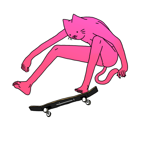 Drawing skateboard leon karssen. Illustrations by selected mike