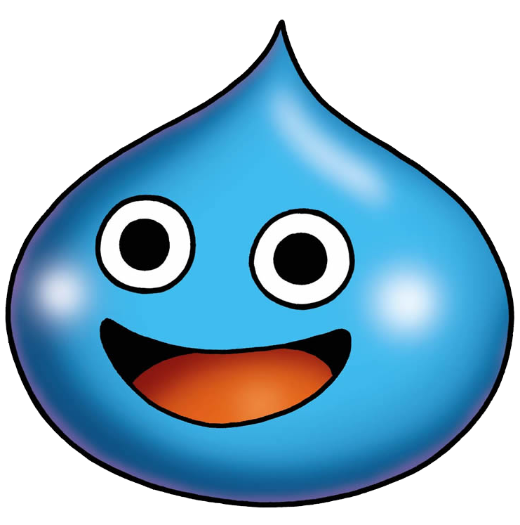 Drawing slime reference. A quest draw near
