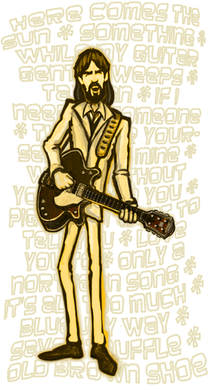 Drawing songs beatles. The sean gallo designs
