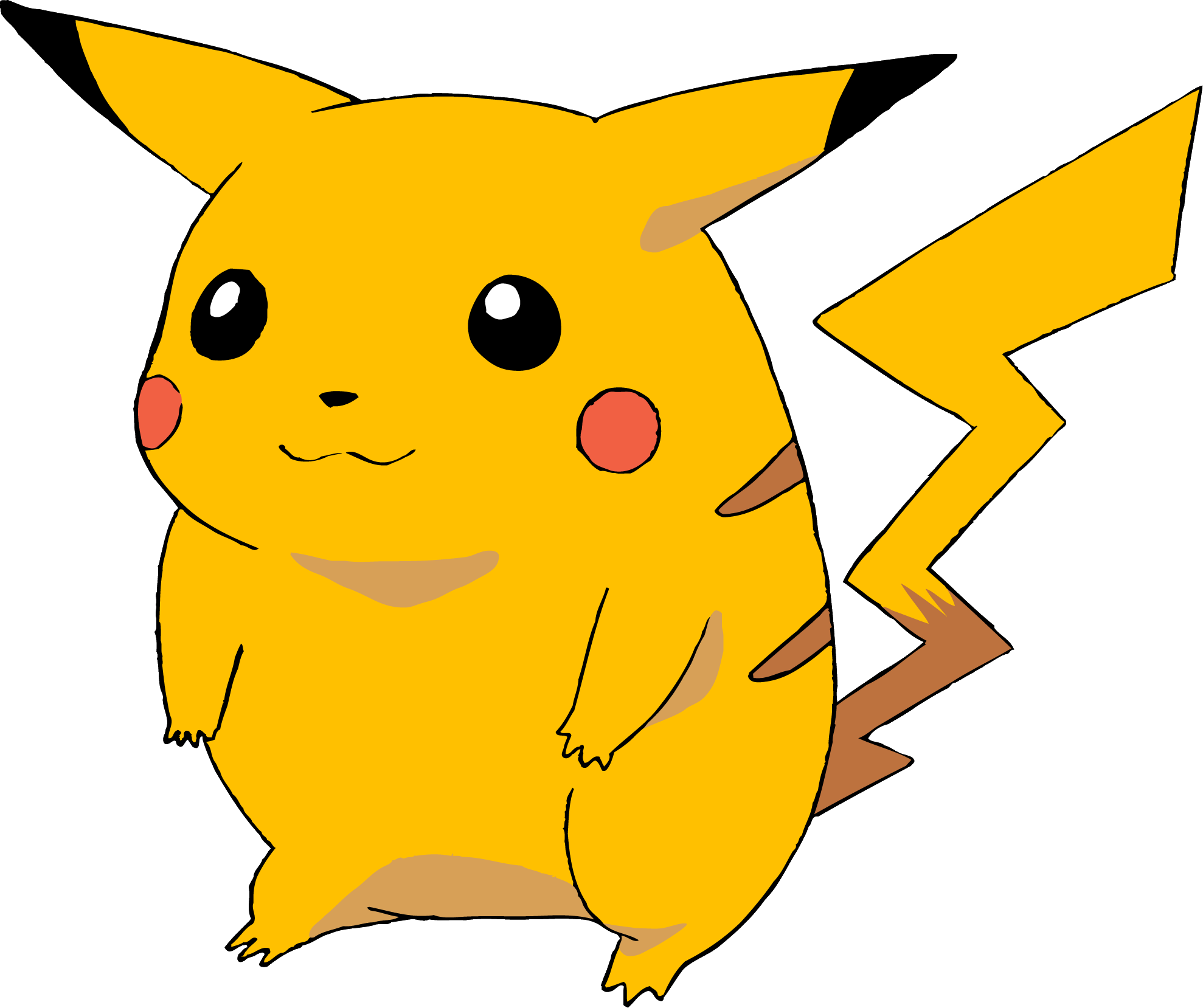 Drawing sound pikachu. Blast from the past