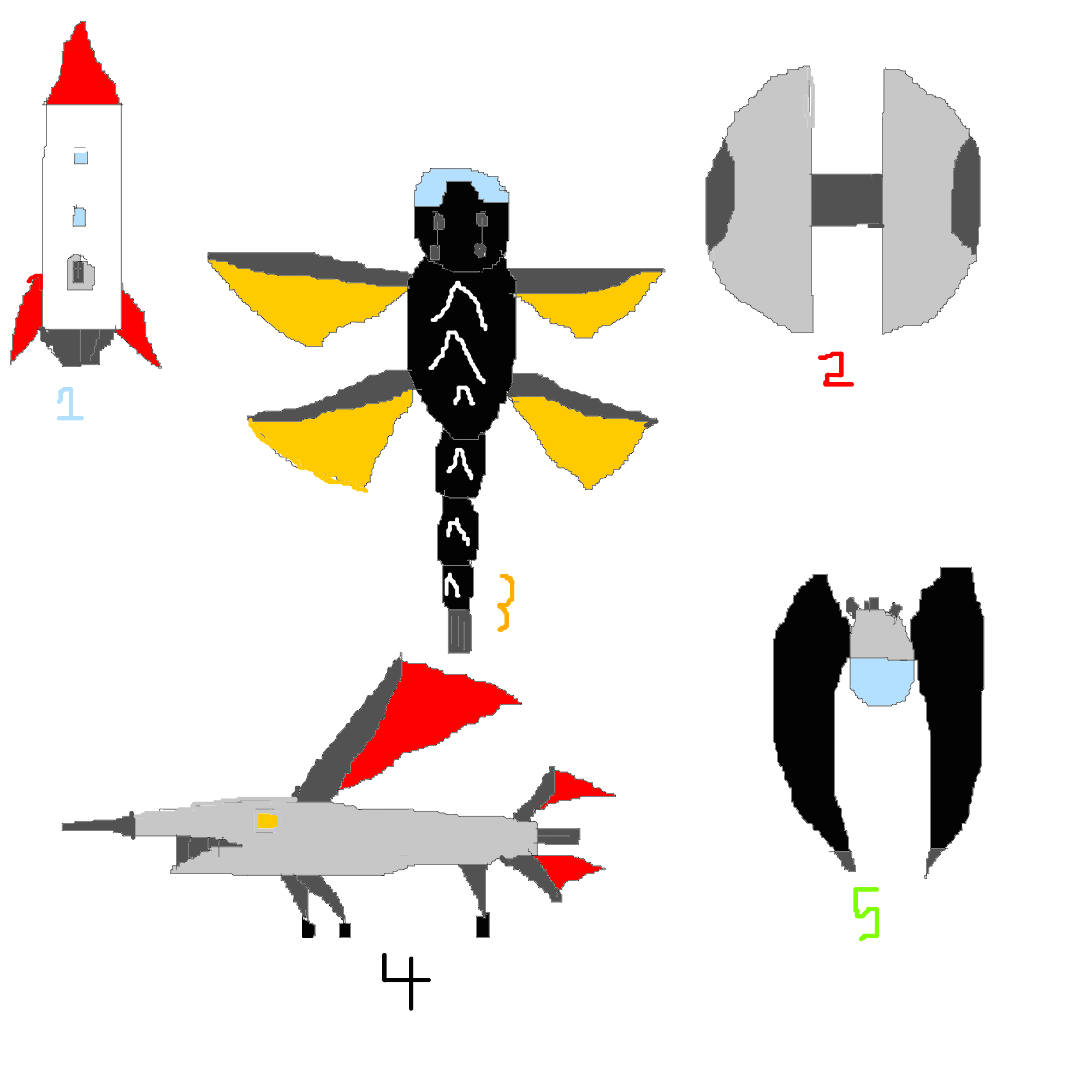 Drawing spaceships mothership. Spaceship designs for the