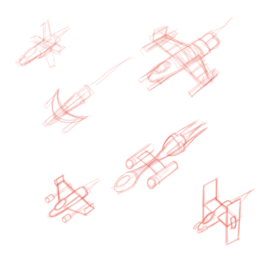Drawing spaceships combat. Spaceship sketches by superultramegacombat