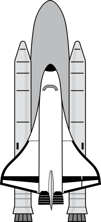 Drawing spaceships space shuttle. Program spacecraft outer astronaut