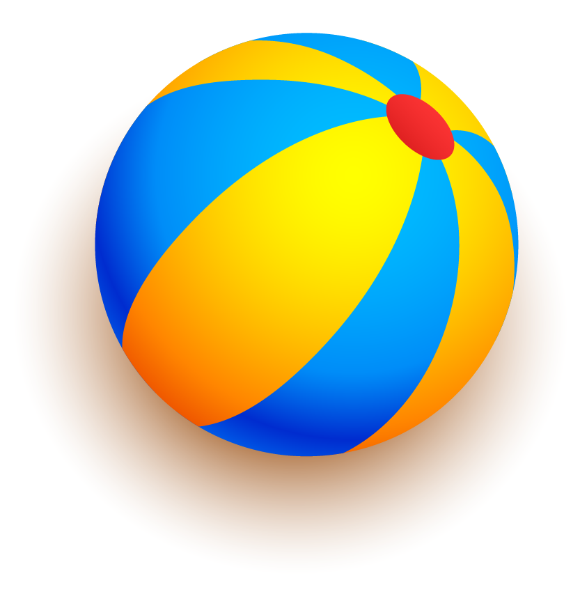 Drawing sphere cartoon. Beach volleyball transprent png