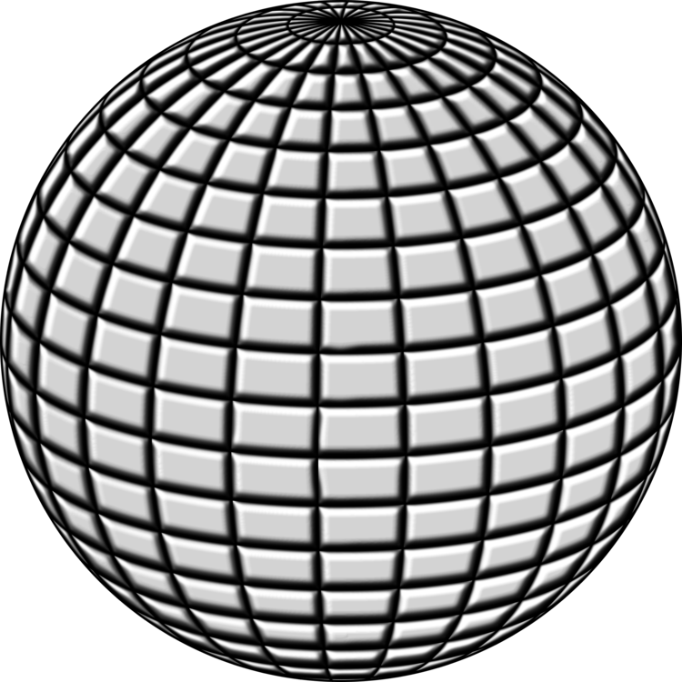 Drawing sphere grayscale. Ball free commercial clipart