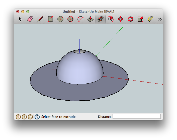 Drawing sphere reference. D modelling in