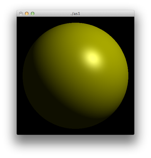 drawing sphere shading