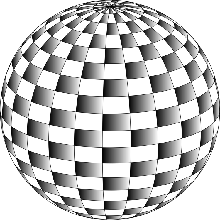 Drawing sphere still life. Computer icons download grayscale