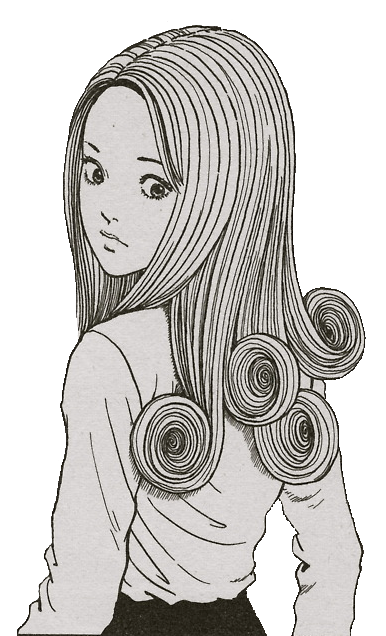 Drawing Spirals Horror Japanese Transparent Png Clipart Free