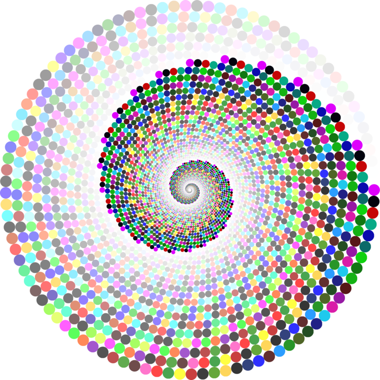 Drawing spirals circle. Computer icons spiral curve