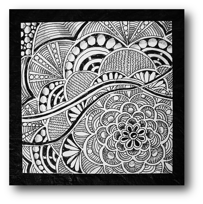 Zentangle challenge pinterest japanese. Tangle drawing pattern graphic library download