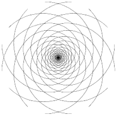 drawing spirals multiple