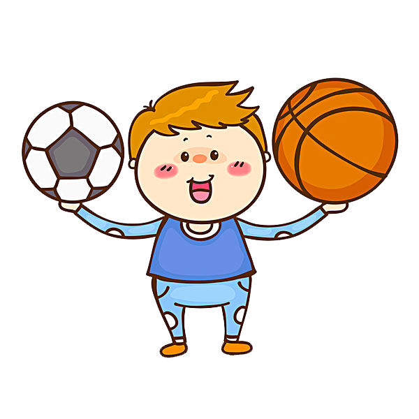 Drawing sport boys basketball. Football clip art the