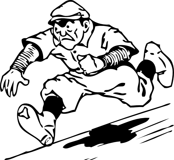Drawing sport clipart. Funny svg library