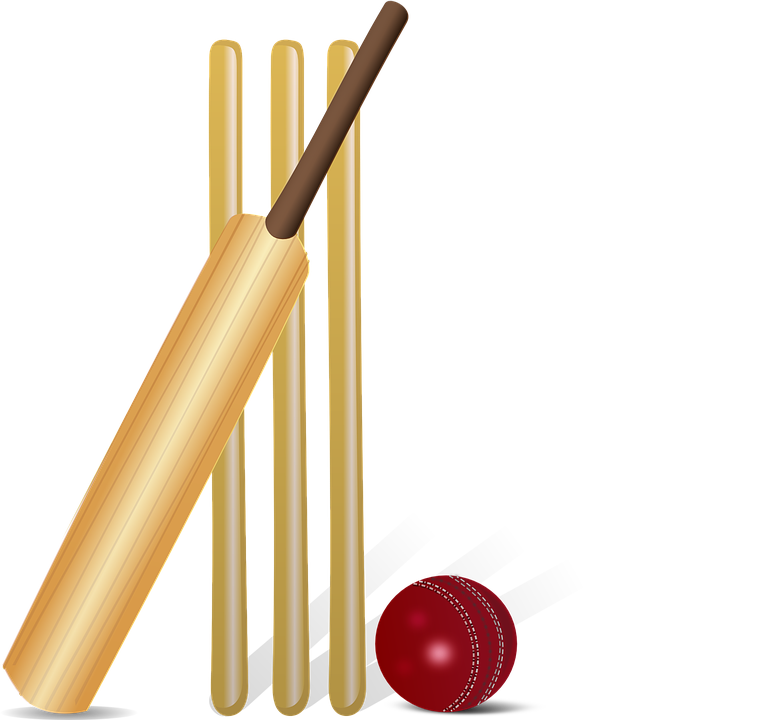 Drawing sport cricket. The famous of world