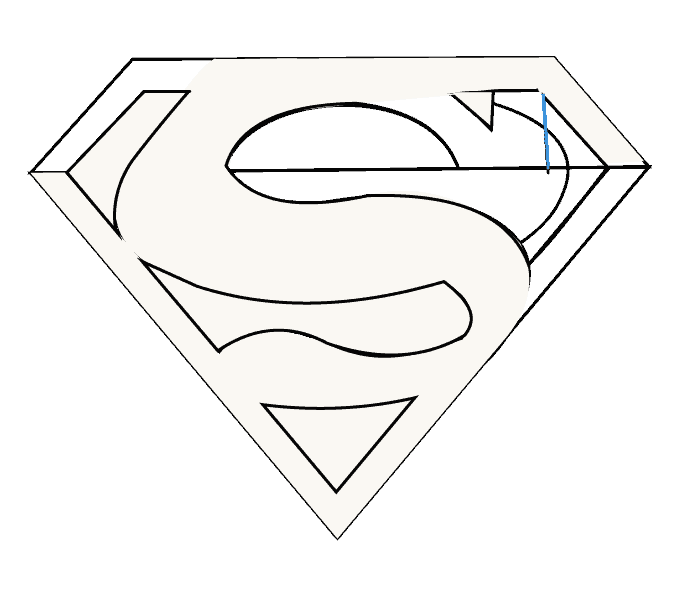 Illusions drawing pop art. How to draw superman
