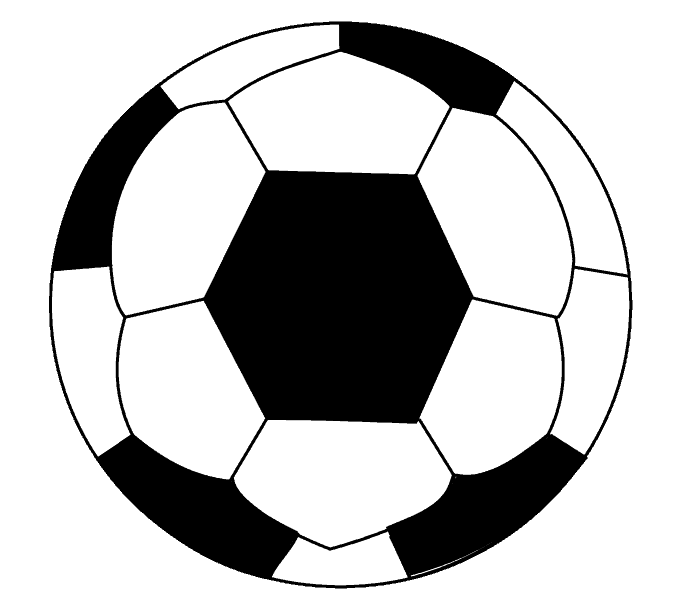 Soccerball drawing soccor. How to draw a