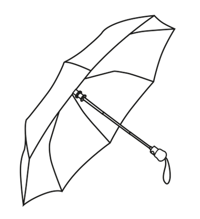 Drawing spring sketch. Essey products umbrella