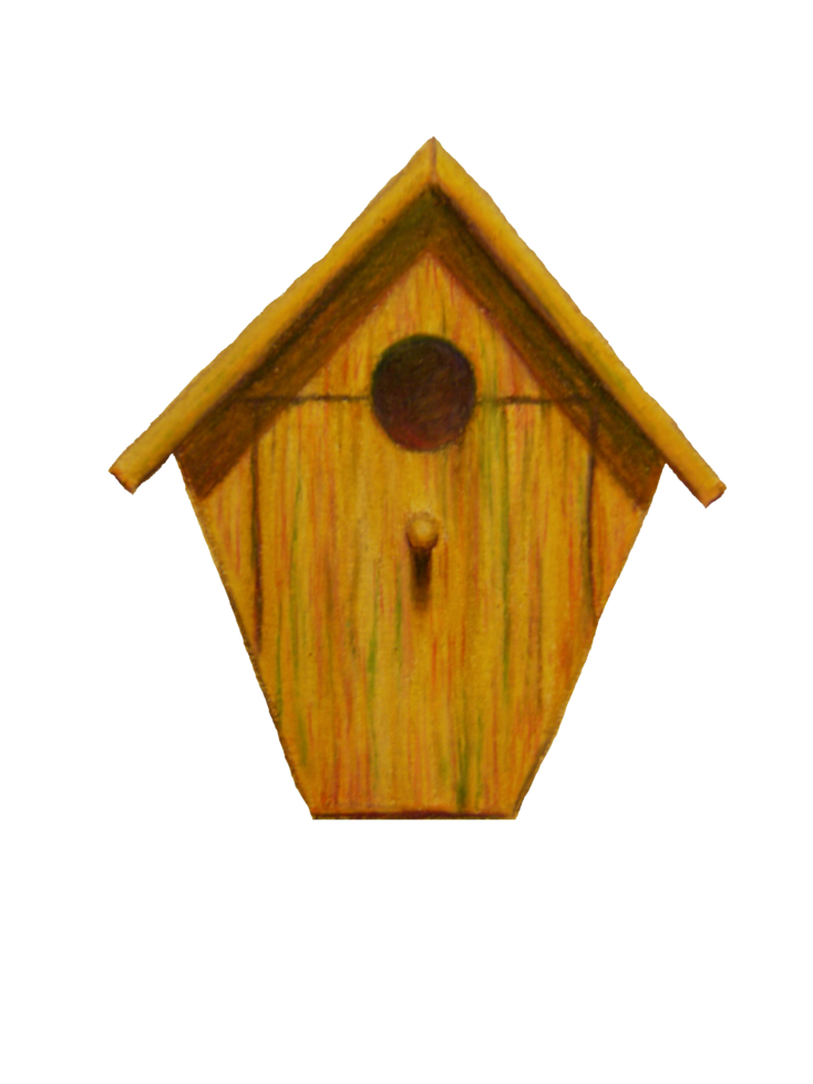 Drawing spring birdhouse. Images at getdrawings com