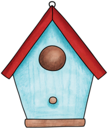Drawing spring birdhouse. Ladylony png pinterest birdhousepng
