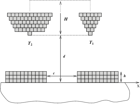 Drawing square. A schematic of the