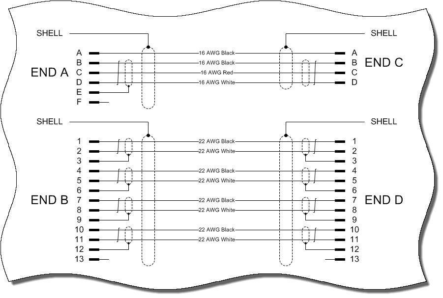 Drawing standards harness. Ade harnware schematic