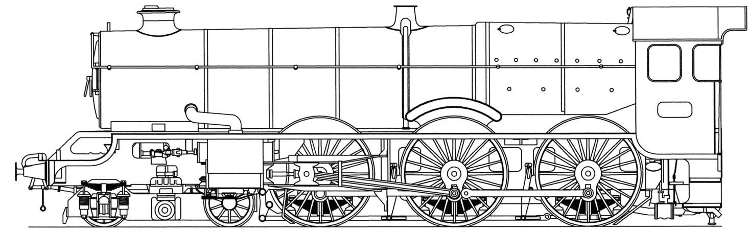 Drawing steam. Locomotive facts for kids