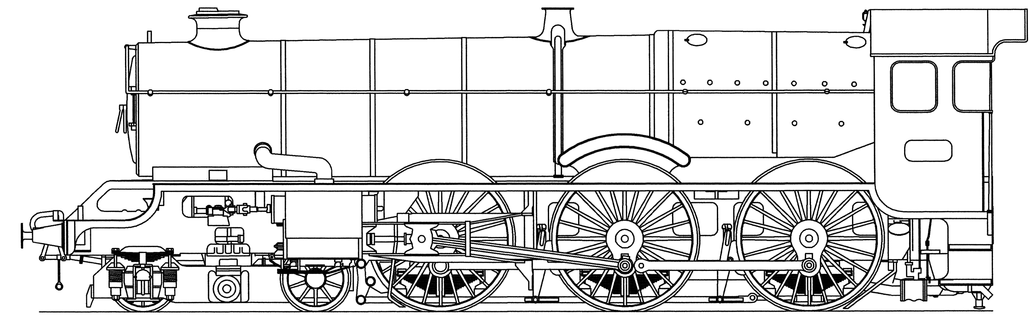 Western drawing history. File autocad of a