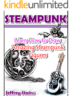 Drawing link steampunk. Amazon com from pets