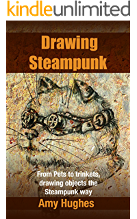 Drawing steampunk camera. How to draw illustrated