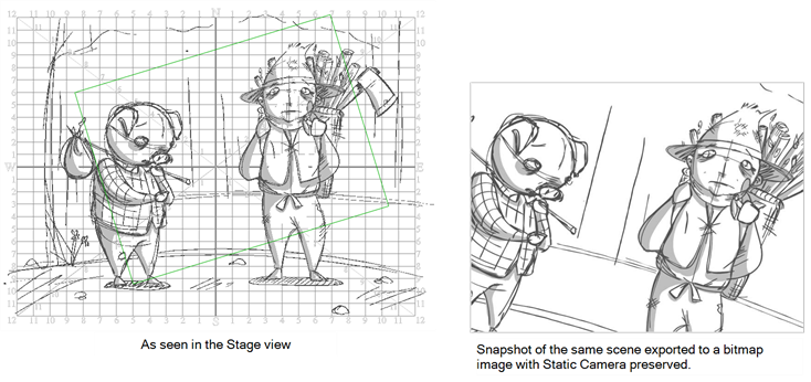 Drawing storyboard. Pro online help about