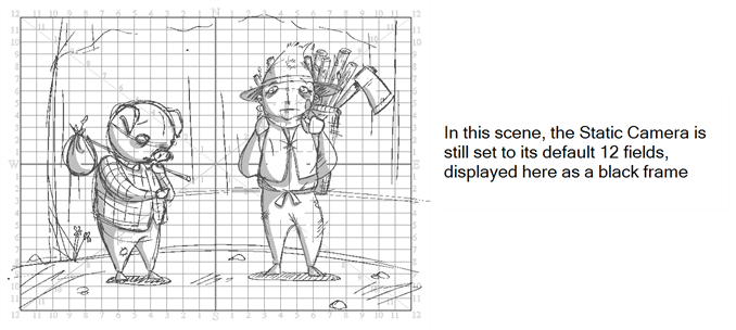Drawing storyboard camera movement. Pro online help setting