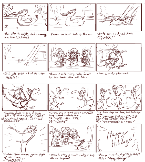 Drawing storyboard ink. Storyboards the art of