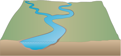 Drawing streams river. Index of ress tice