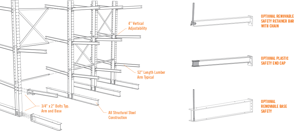 Board drawing storage. Structural steel i beam