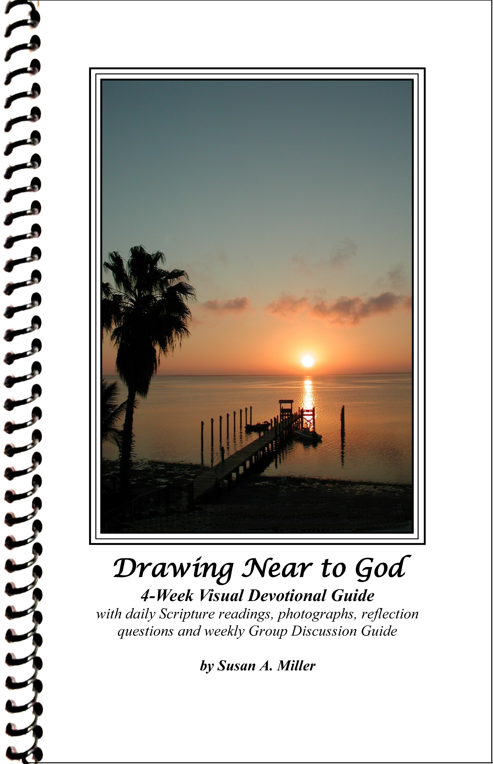 Drawing sunset evening. Devotional products susan miller