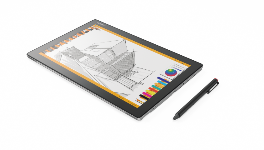 Drawing surface stylus. Lenovo announces the miix
