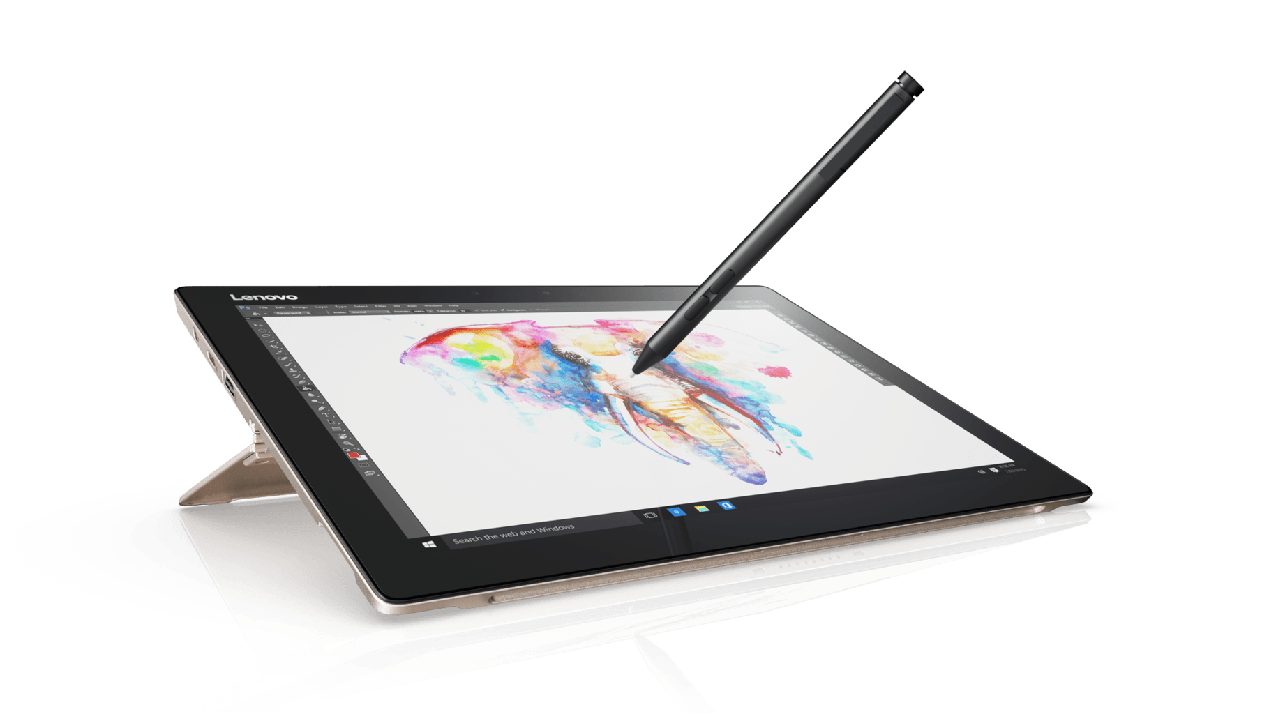 Drawing surface stylus. Lenovo unveils its new