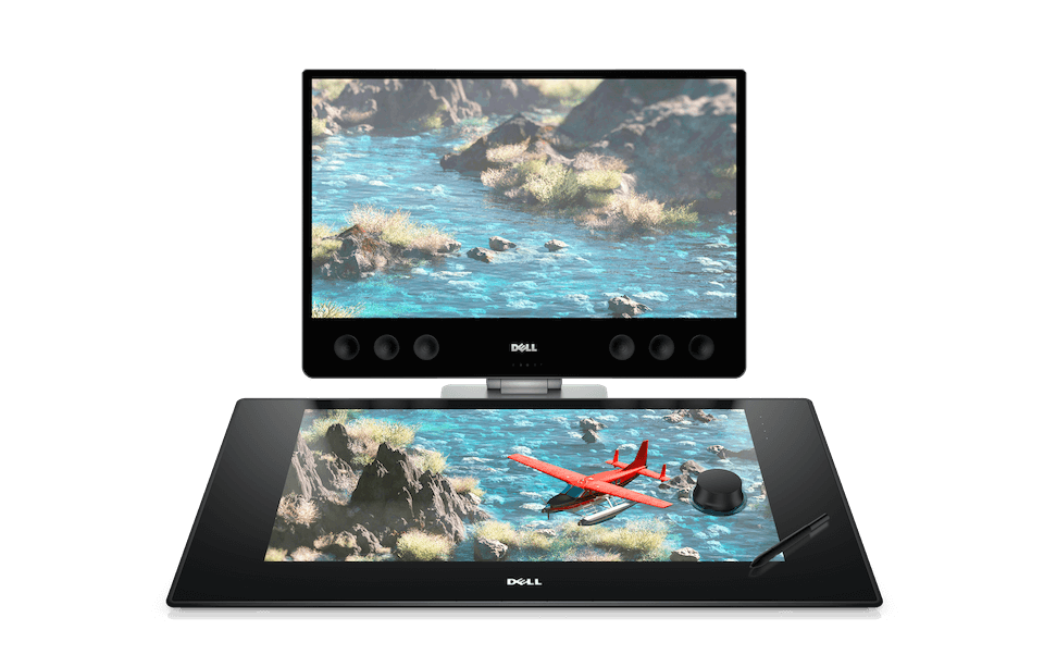 Drawing surface tablet. Canvas dell s new