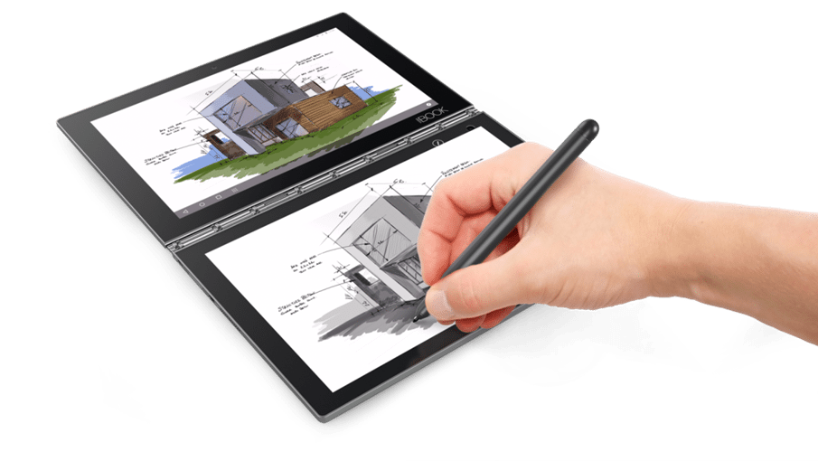 Drawing tab architecture. Review lenovo yogabook android