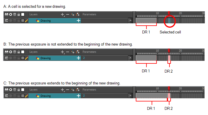 Drawing tab beginner. Harmony paint documentation extending