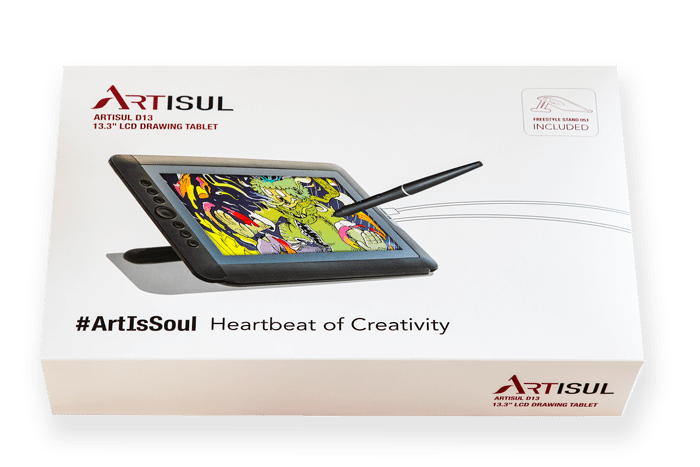 Drawing tablety lcd. Artisul d s tablet