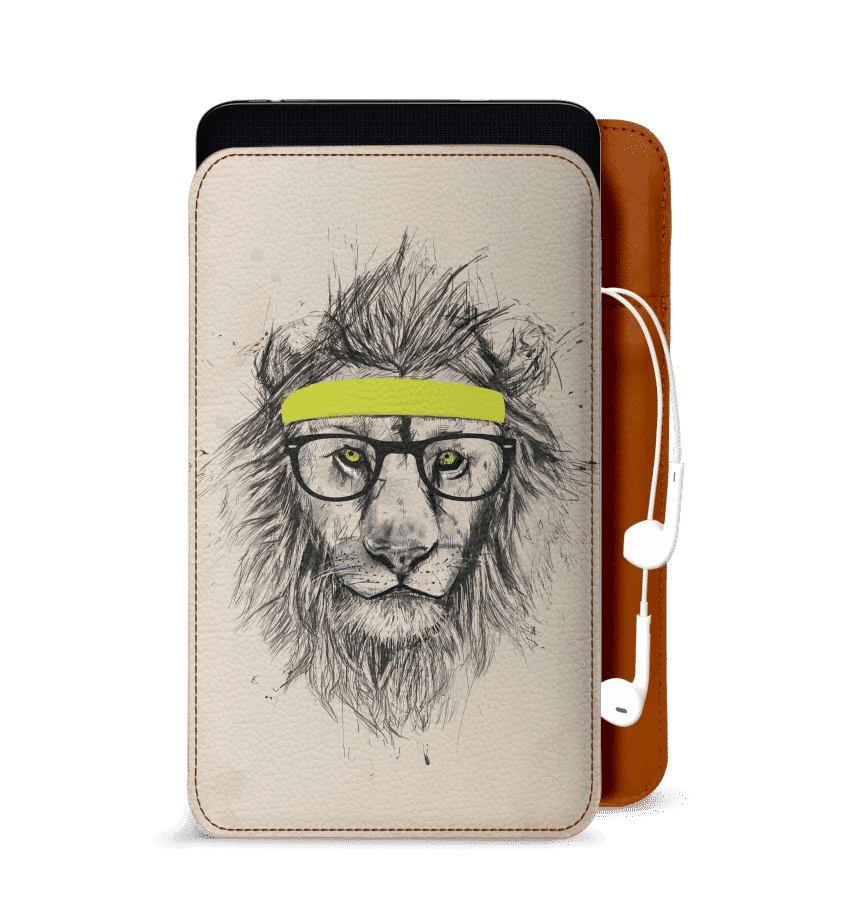 Samsung drawing realistic. Dailyobjects hipster lion light