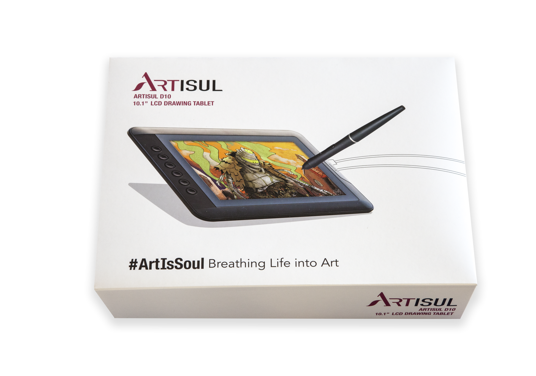 Drawing tab grapic. Artisul d tablet with