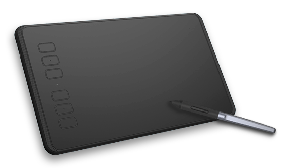 Drawing tab huion. Pen tablets display led